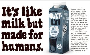oatly milk advert